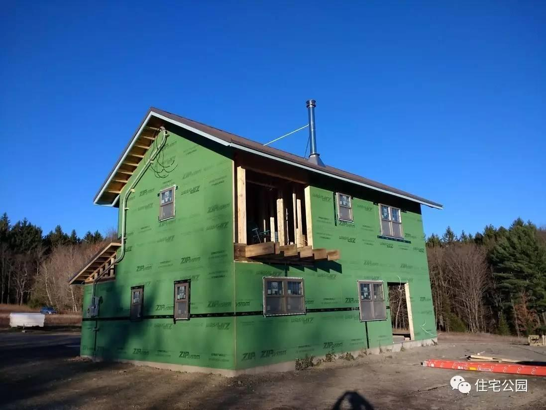 红砖以后,我们怎样建房子?美国农村木结构自建房全程实拍