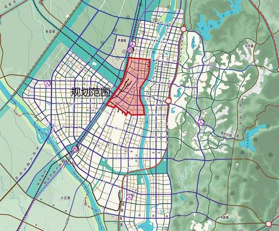 """德阳老城区规划方案""""三步曲"""" 16k㎡居住人口30.74万人"""