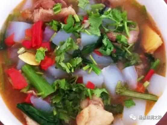 新疆回族美食丨粉汤海贼王图片美食图片