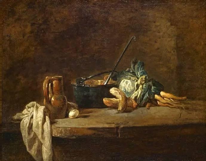 法国著名静物画大师 夏尔丹作品欣赏