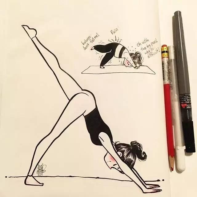 63万人围观姑娘,只因她记录下做瑜伽的画面,尬......