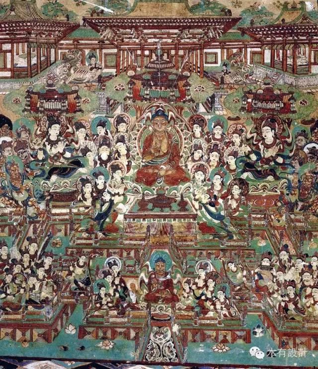 【鉴赏】敦煌壁画中的唐代建筑图片
