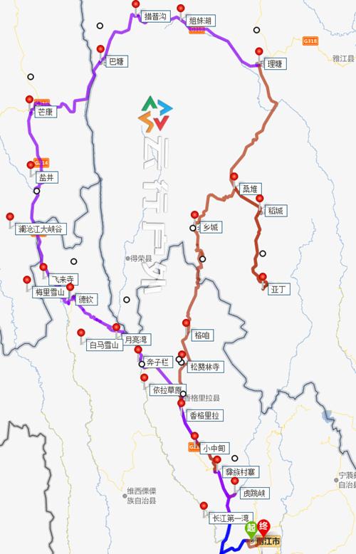 新闻客户端  路程上面来说:丽江到亚丁景区日瓦镇(香格里拉镇)只有520