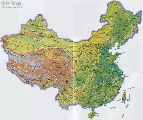 中国地图里暗藏的天机,读完才发现之前的历史,地理统统都白学了!