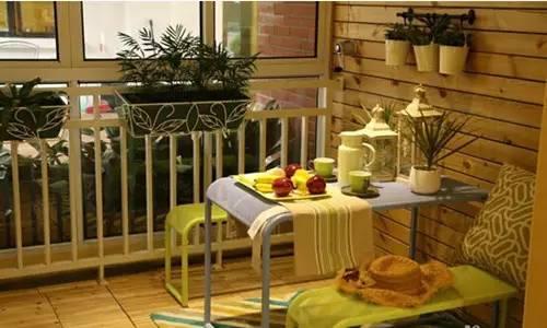 逆天了 阳台除了晾衣服还能变餐厅 书房 花园 游乐场