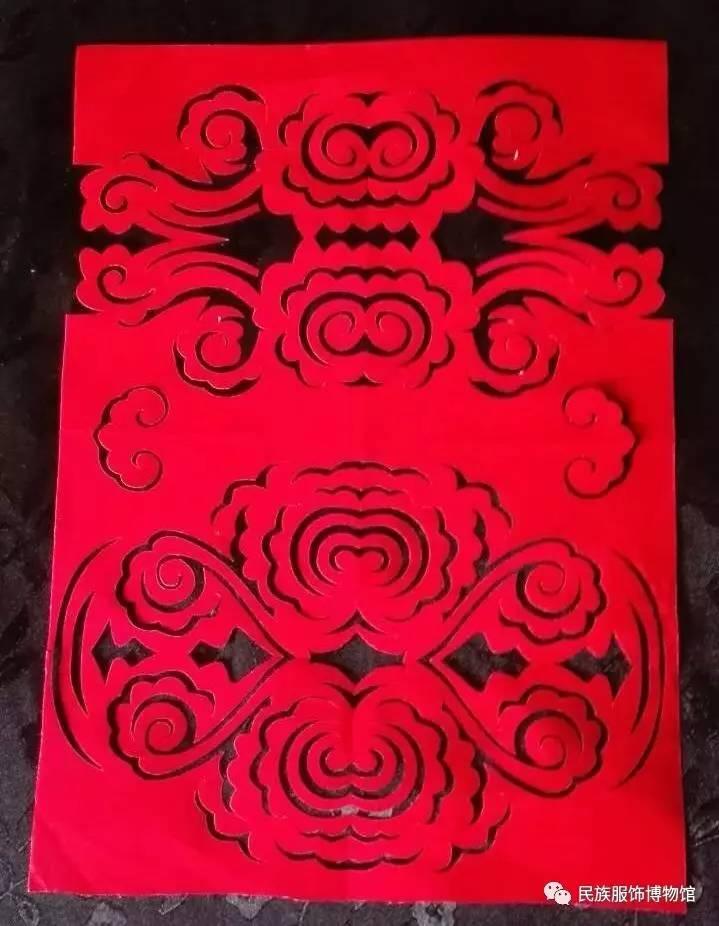 红纸剪花大全步骤图解