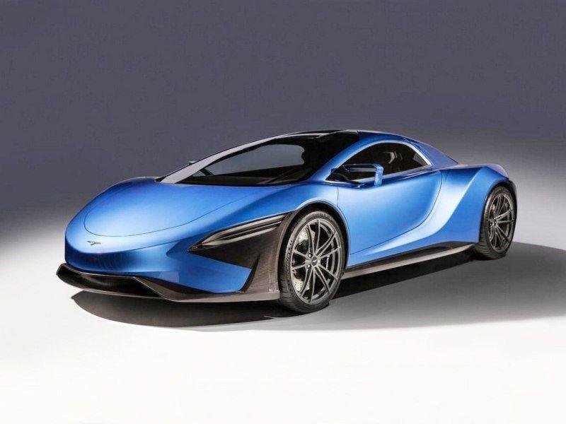 战斗机--国产跑车达1300马力!打开车门就像战斗机,2.5秒破百已量产