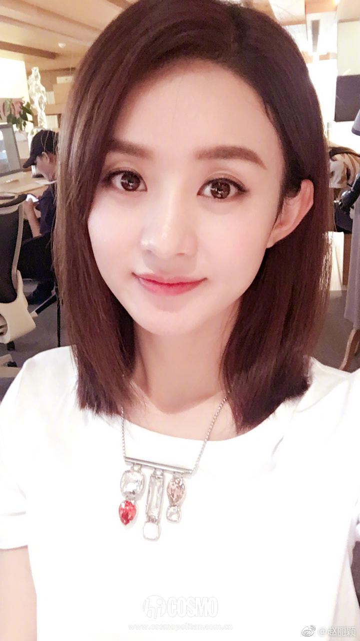 美人计 | 杨紫景甜剪短发,张天爱热巴齐刘海,颜值蹭蹭图片