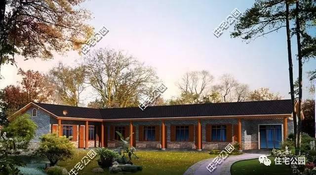 3套2层别墅+2套别墅平层,看看到底有人,喜农村蓝村带4图的花园图片
