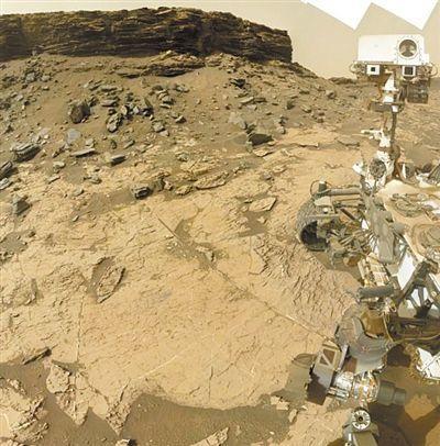 火星发现硼酸盐  - 点击图片进入下一页