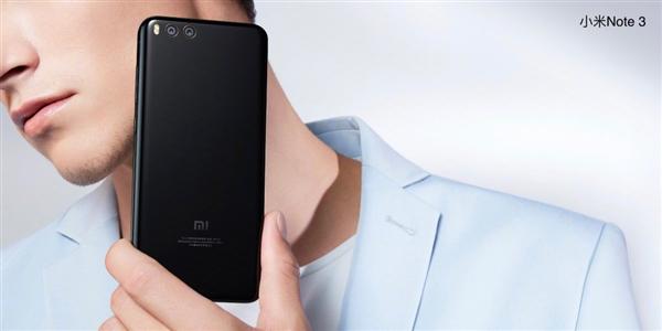 此外,小米Note 3还提供人脸解锁功能,简单来说就是利用AI人脸识别算法,来进行解锁,支持全功能NFC。目前发布会还在继续,如果售价真是1999元,相信有成为一代神机的潜力。