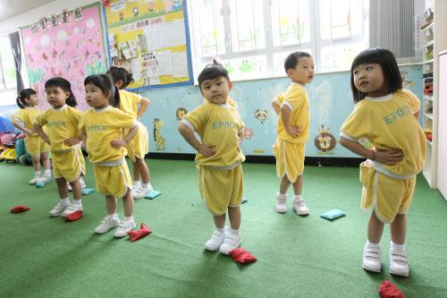 创校30年、位于?鱼涌的怡宝中英文幼稚园,因不敌租金问题于七月停办。图片来源:香港《大公报》。