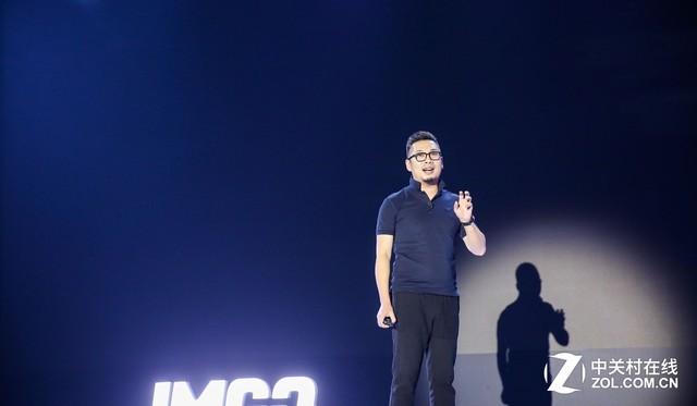 坚果智能影院联席CEO兼首席设计师陈兴博发言