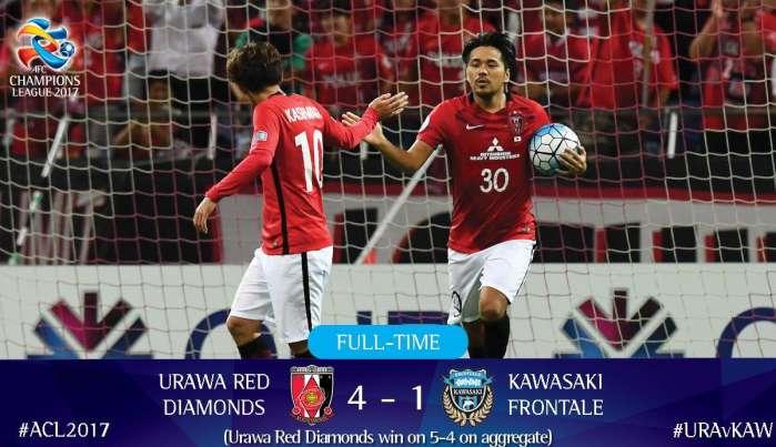上港亚冠半决赛对手出炉,日本红魔堪称逆转之王!