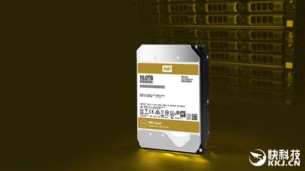 西数发布首款自主12TB硬盘:WD Gold企业金盘