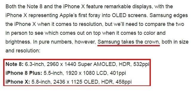 看完iPhoneX发布会冲这四点我买Note 8