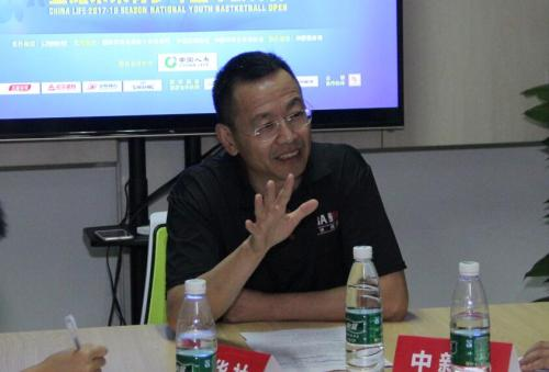 众辉体育董事长陆浩接受采访 主办方供图