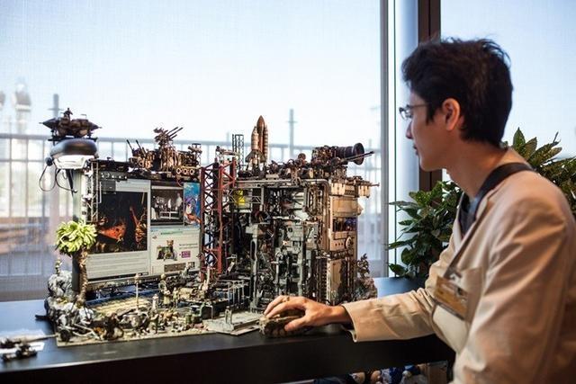 别轻视宅男揭秘日本DIY狂野达人的电脑