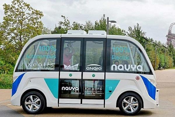 伦敦开测纯电无人驾驶公交车:免费搭乘