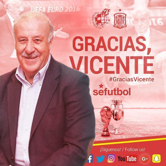 西班牙国足主帅博斯克卸任! 球迷: 来中国吧, 和里皮大干一场!