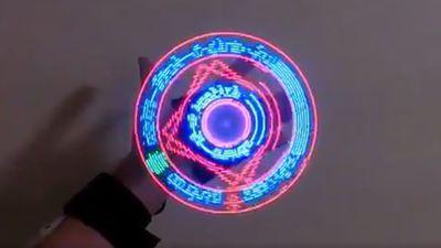 日本有趣的DIY新作 让二次元魔法阵来到现实