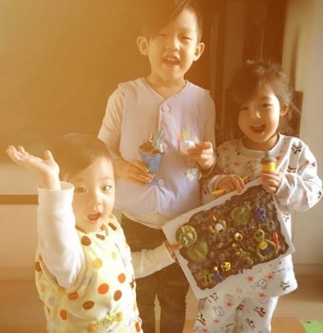 小泡芙这么可爱的孩子,刘畊宏还有两个