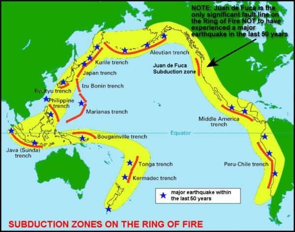 环太平洋地震带进入活跃期,8小时内搞出3次强