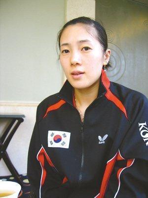 乒坛女将为爱入韩籍 为韩国争夺荣誉却被丈夫抛弃