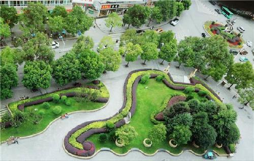 城市街头绿地设计说明