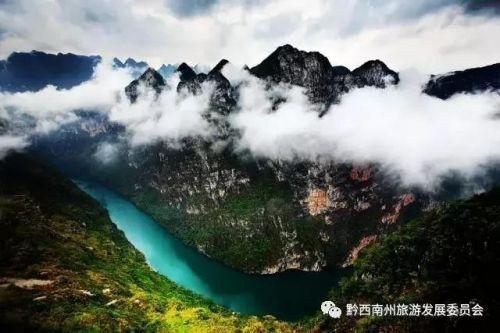 万峰林,马岭河峡谷,万峰湖,云湖山,贵州醇风景区,泥凼石林,玉皇顶