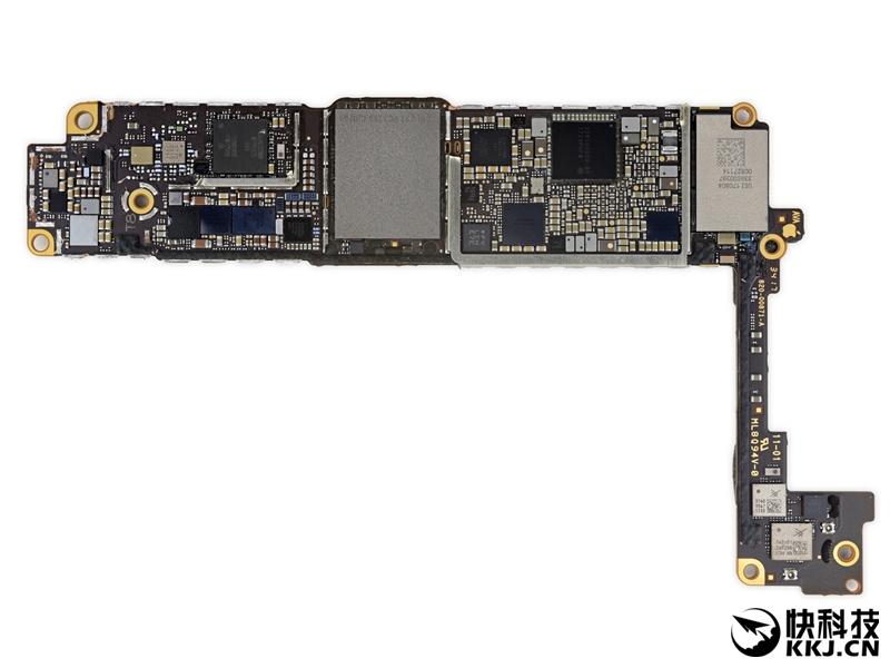 苹果7p主板结构图