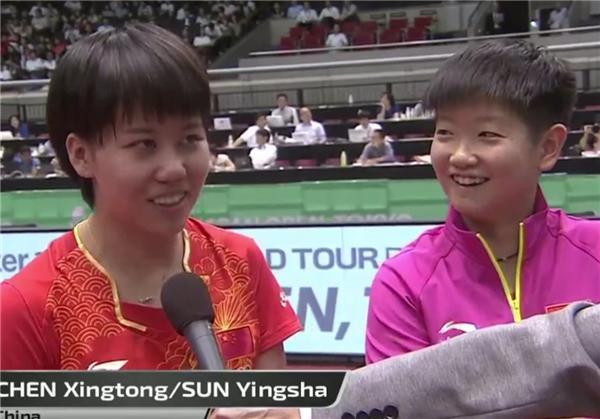 裁判两次保送日本打脸 孔令辉钦点双子星逆转夺冠