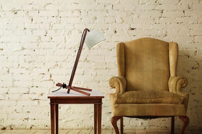新玩法!英国设计师用蘑菇菌丝做台灯,质感超赞