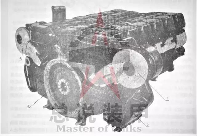 MB837发动机采用8缸V型布局