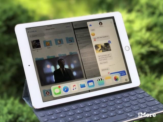搭载iOS11系统的iPad(图片引自iMore)-外媒深度评测 不升级iOS 11