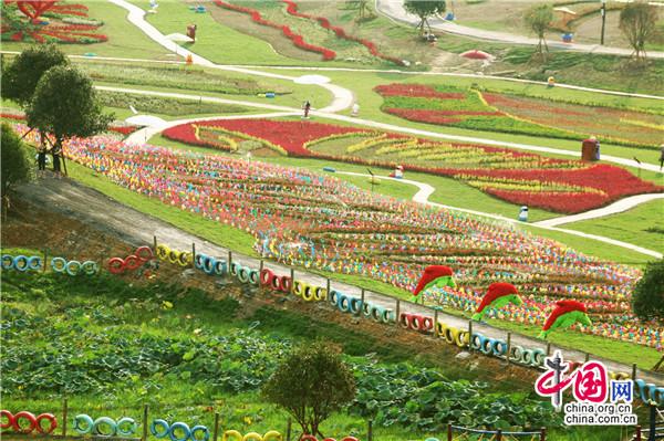武冈:湘西南最大主题创意游乐园开园迎客