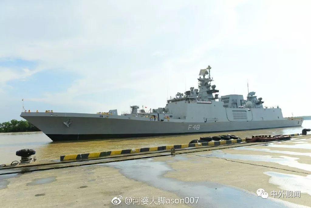 印度海军3艘新锐舰访越南 距离中国不足百公里