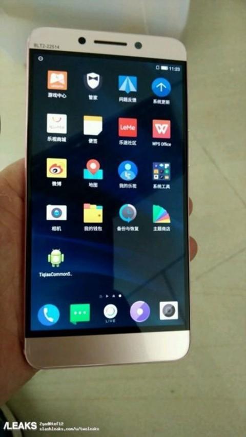 手机产品线或将回暖 无边框乐视X7原型机曝光