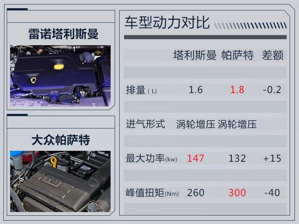 雷诺将在华国产轿车塔利斯曼 动力赶超帕萨特-图2