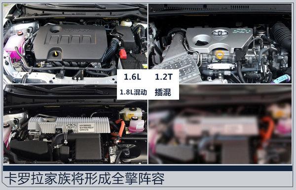 一汽丰田加速卡罗拉插混版国产 综合油耗低于2L-图3