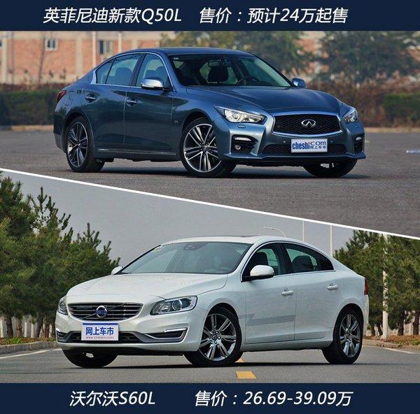 英菲尼迪新Q50L搭小排量1.6T 竞争沃尔沃S60L-图5
