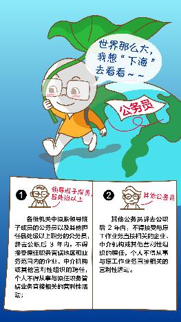 中纪委:公务员若辞职下海 可不是想干啥就干啥