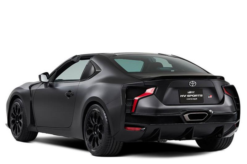 丰田的全新概念车GR HV 将亮相东京车展-图3
