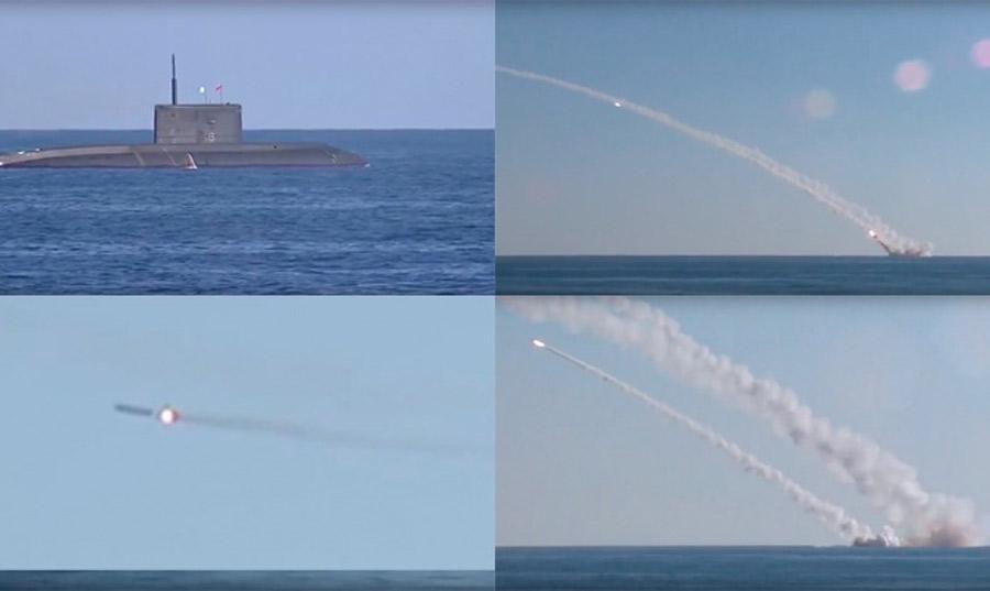 俄军狂射巡航导弹花式吊打IS,看似过瘾实属无奈