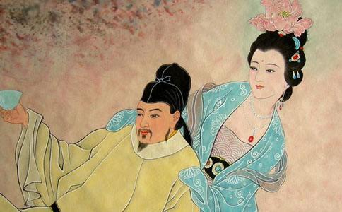 唐玄宗和杨贵妃