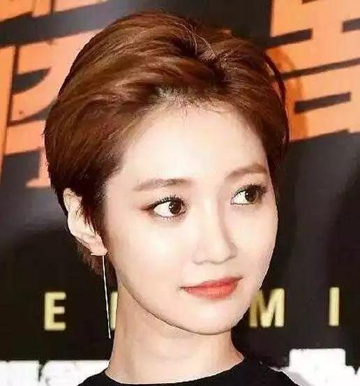 韩星高俊熙短发发型,帅气假小子!