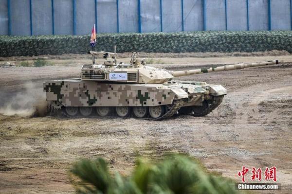 中国新型坦克首次出口:28辆VT-4主战坦克运抵泰国