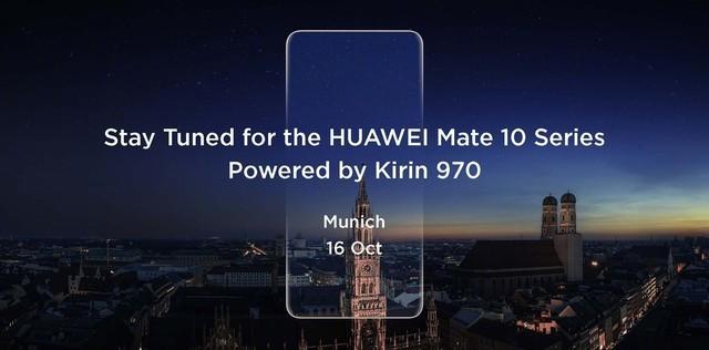 AI芯+徕卡双摄华为Mate 10下周一见