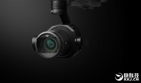 大疆发布全新Zenmuse X7云台相机:6K分辨率RAW视频