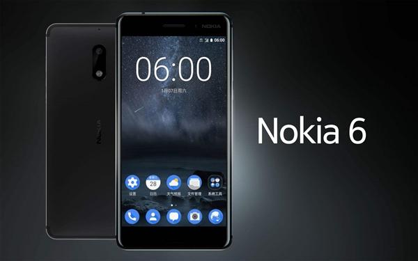 诺记安卓手机上半年销量超150万!诺基亚6记头功